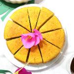 Ciasto pomarańczowe z całą pomarańczą