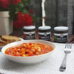 Potrawka z ciecierzycy i pomidorów